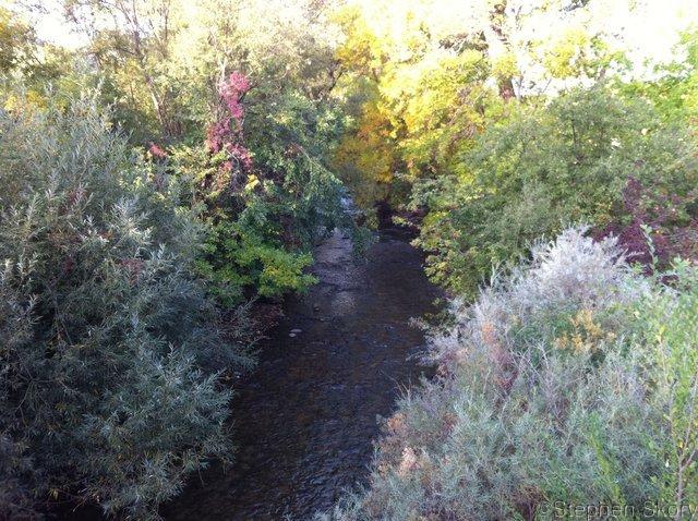 Boulder Creek In October